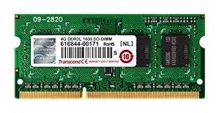 4GB DDR3 1600MHz Laptop Ram