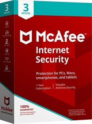 McAfee Antivirus 3 User