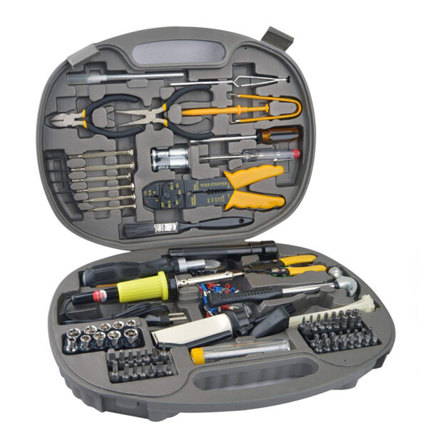 S-TEK 145 pieces Computer Repair Tool Kit
