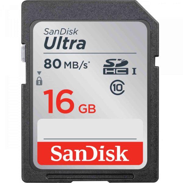SanDisk 16GB MicroSD class 10