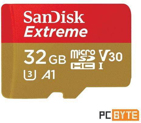 SanDisk 32GB Extrim Micro SDHC Card