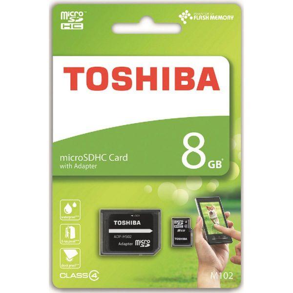 Toshiba 8GB Micro SD Card