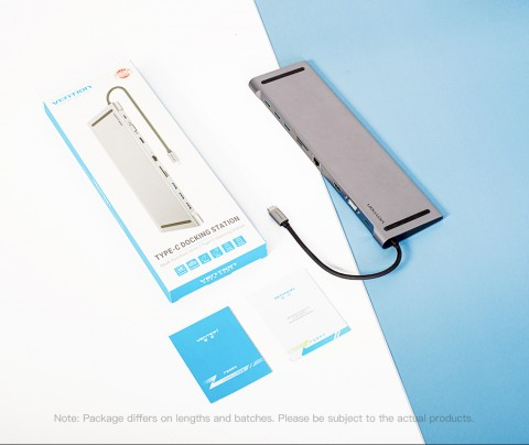 Vention USB type C 10 in 1 docking station