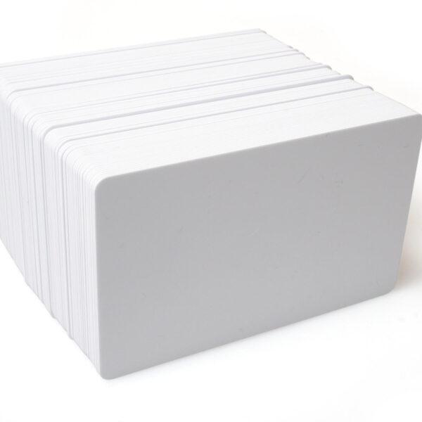 Blank White PVC Plastic Cards