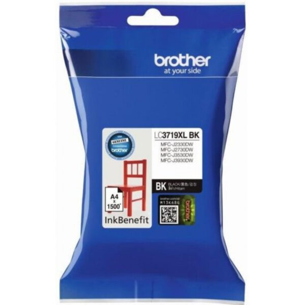Brother LC-3719XL BK Black Ink Cartridge