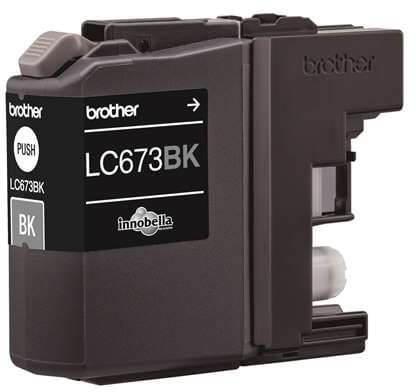 Brother LC-673BK Black Ink Cartridge