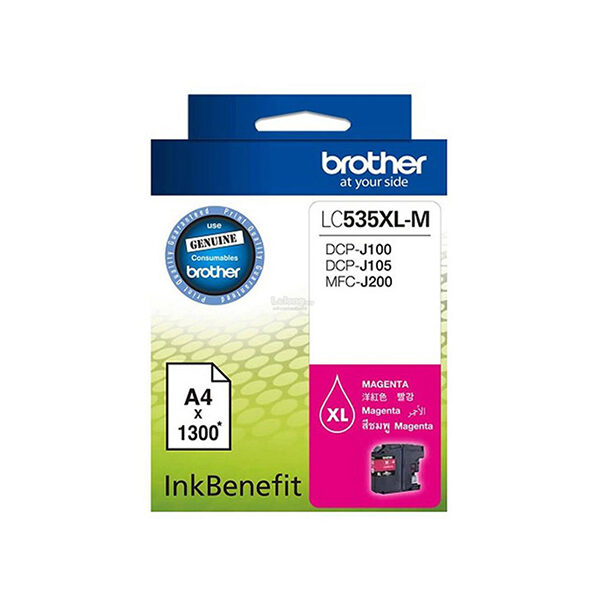 Brother LC535XL M Magenta Ink Cartridge