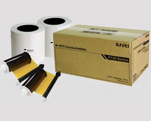 HiTi P720L 4x6 Paper Ribbon Media Kit