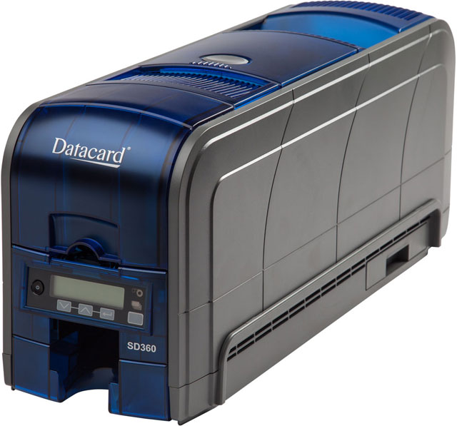 Datacard SD360 Dual Sided ID Card Printer