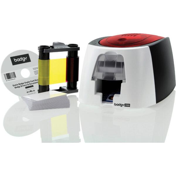 Evolis Badgy 200 single sided card printer