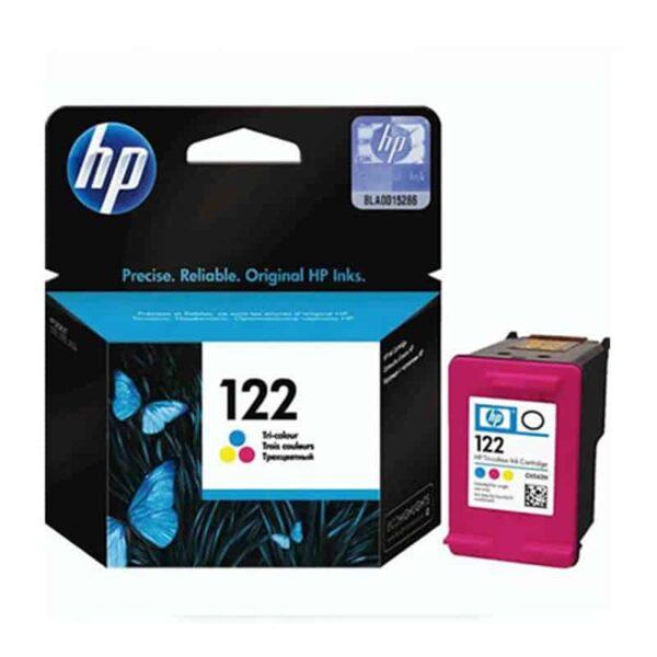 HP 122 Tri-color Ink Cartridge