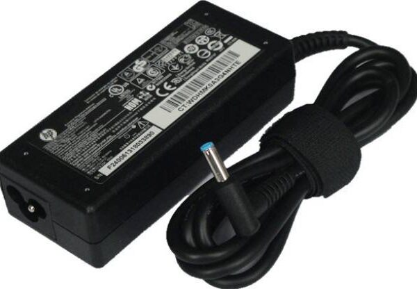 HP 18.5V 3.5A blue pin laptop adapter