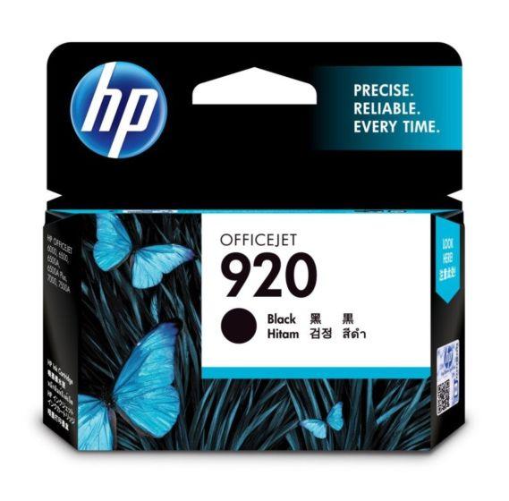 HP 920 Black Original Ink Cartridge