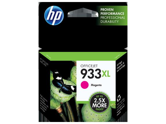HP 933XL High Yield Magenta Ink Cartridge