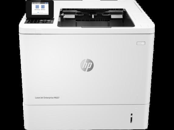 HP LaserJet M607DN printer