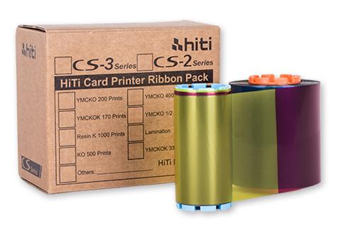 HiTi CS-2 YMCKO Color Printer Ribbon