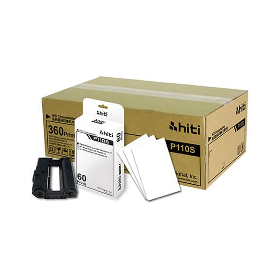 HiTi P110S 4x6 Paper Ribbon Media Kit