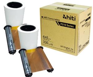 HiTi P510 4x6 Paper Ribbon Media Kit