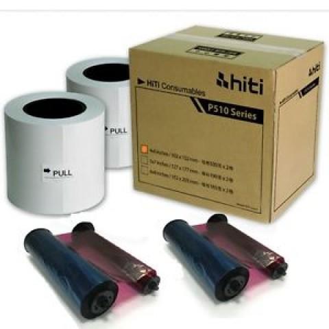 HiTi P510 6x8 Paper Ribbon Media Kit