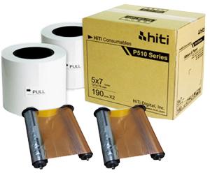 HiTi P720L 5x7 Paper Ribbon Media Kit