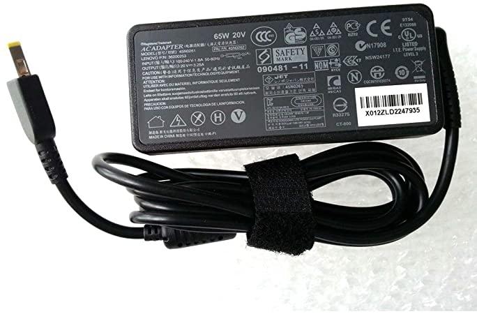 Lenovo 20V 3.25 USB C laptop charger