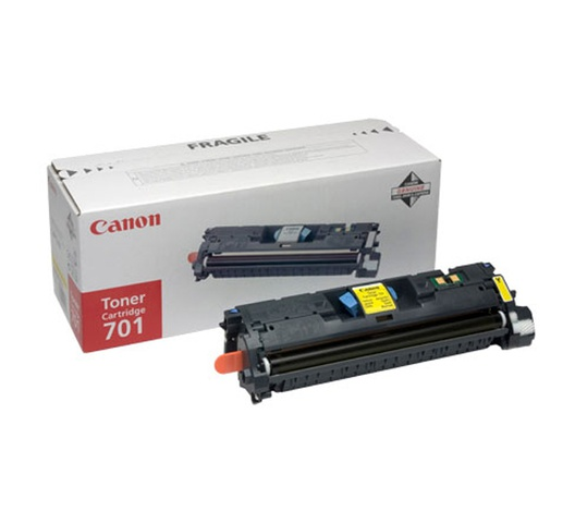 Canon 701 Yellow toner cartridge