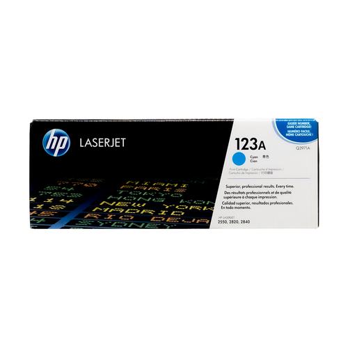 HP 123A Cyan Toner Cartridge