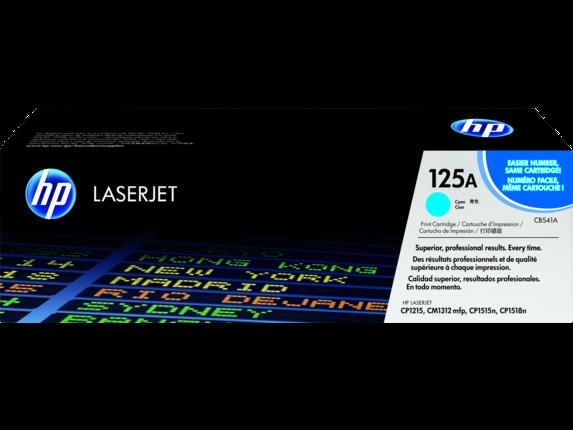 HP 125A Cyan Toner Cartridge CB541A