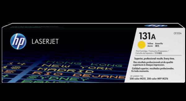 HP 131A Yellow Toner Cartridge CF212A