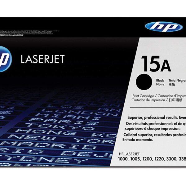 HP 15A Black Toner Cartridge