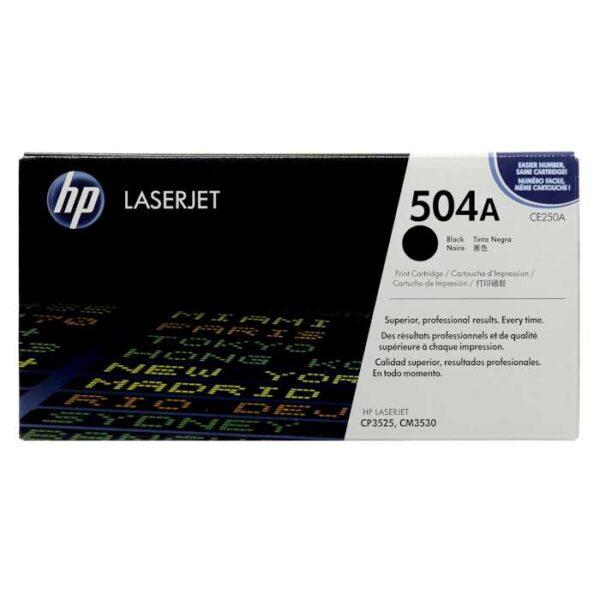 HP 504A Black Toner Cartridge