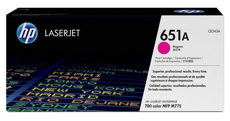 HP 651A Magenta Toner Cartridge