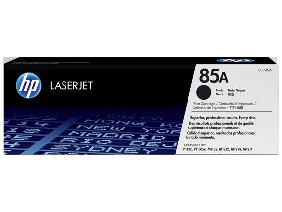 HP 85A Black Toner Cartridge CE285A