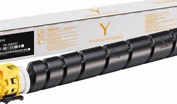Kyocera TK-8515Y Yellow Toner Cartridge