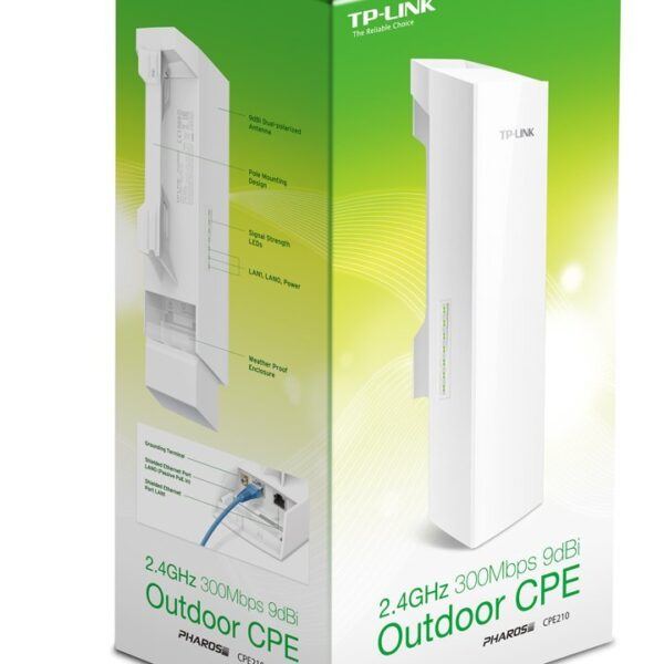 TP-Link CPE210 2.4Ghz 9dBi Outdoor CPE