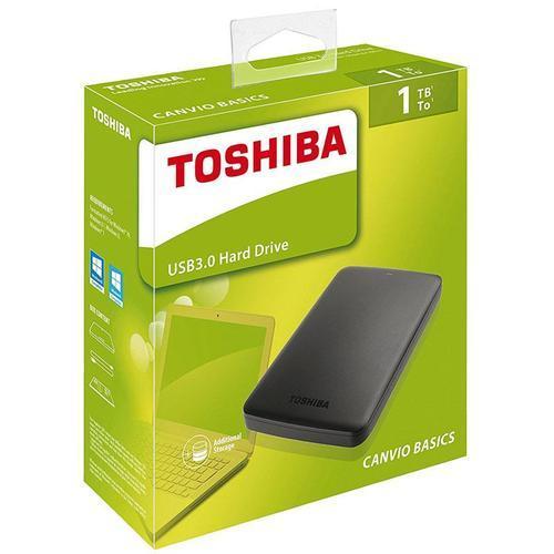 Toshiba Canvio 1TB External Hard Drive