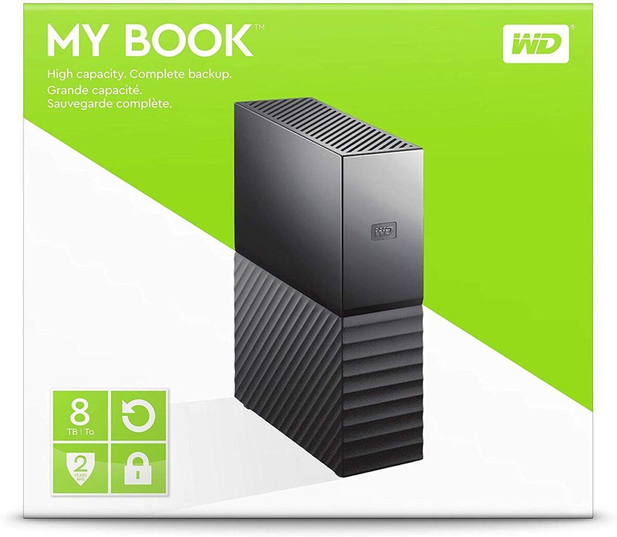 Western Digital My Book 8TB External Hard Drive